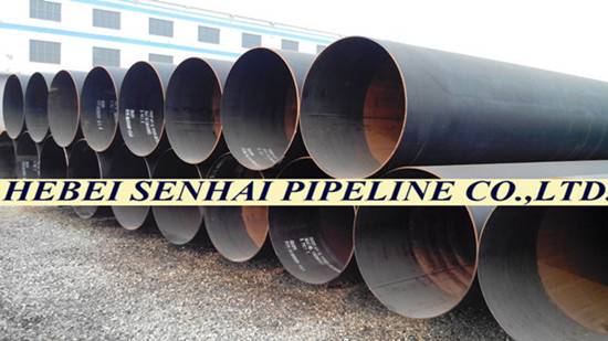 Lsaw Sawl Longitudinal Submerged Arc Welded Steel Pipes S355jr S355j0h S355j2h Astm A672