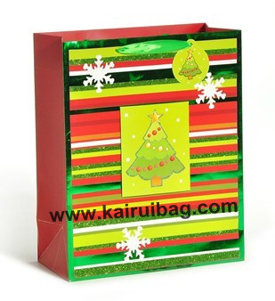 Lucky Christmas Tree Gift Bag Packaging Kr224