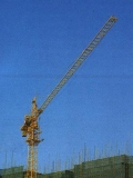 Luffing Tower Crane Qtz200 Lf10 Max Load 10t