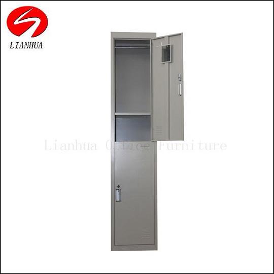 Luoyang Lianhua Steel Double Door Locker Two Tier Clolrful