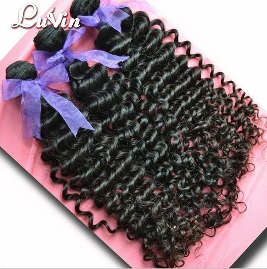 Luvin Hair Virgin Human 5a Gread Malaysian Deep Curl