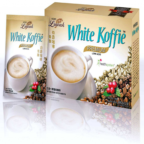 Luwak White Coffee Instant