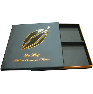 Luxury Chocolate Packaging Paper Box With Hot Stamping