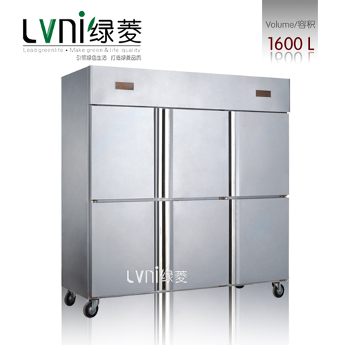 Lvni Gd1600l6 Stainless Steel Upright Freezer Industrial