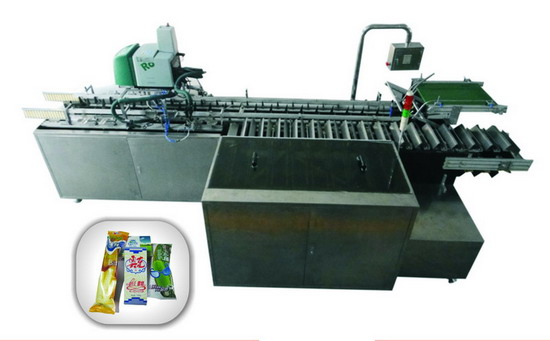 Lx 120 High Speed Ice Cream Box Packing Machine