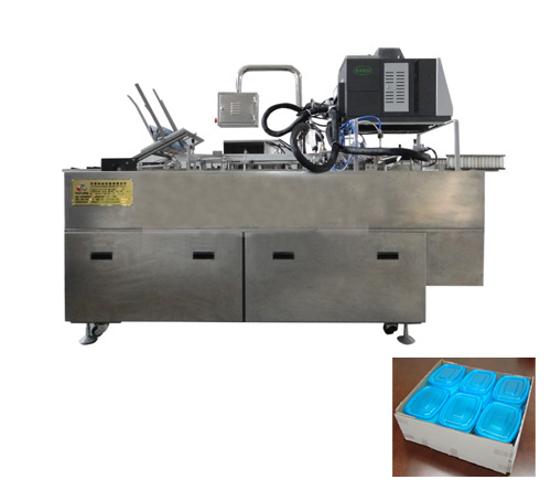Lx W20zx Tray Type Carton Former With Hot Melt Glue
