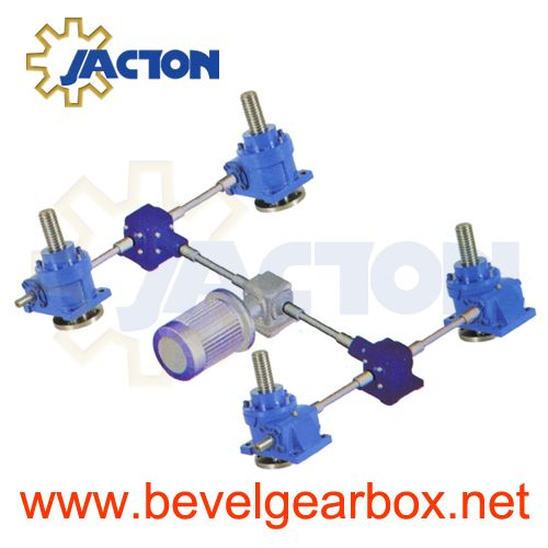 Machine Jack Systems Screw Table Lifting Heavy Precision Duty