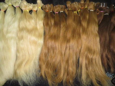 Machine Weft Colored Hair