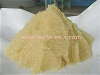 Macroporous Weakly Acidic Resin
