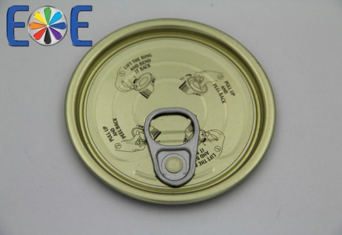 Madagascar 300 Tinplate Edible Oil Easy Open Can End Direct From Producer