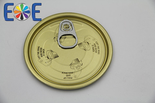 Madagascar 307 Tinplate Fruits Easy Open Can End Direct From Producer