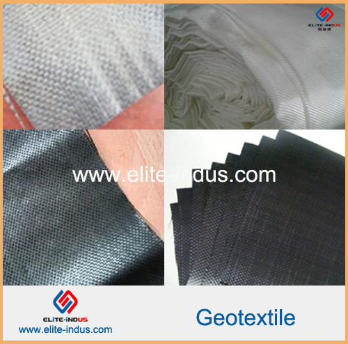 Made In China Cheap Yarn Flat Slik Pp Woven Geotextile