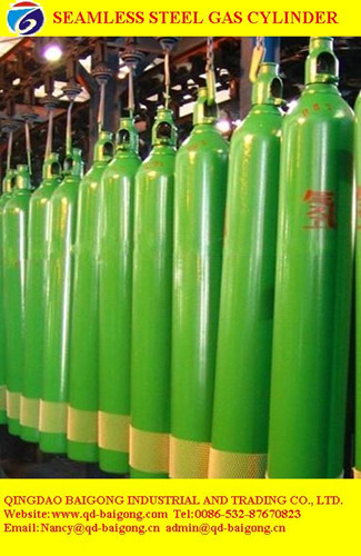 Made In China Seamless Steel Oxygen Cylinder