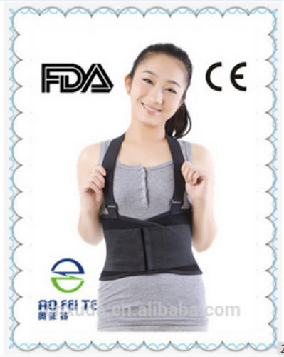 Magic Products Ce Certificated Back Ease Adjustable Lumbar Belt Brace As Seen On Tv