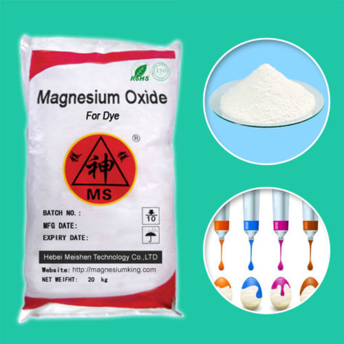 Magnesium Oxide For Dye Rohs Reach Sgs