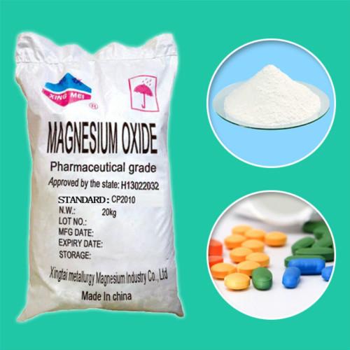 Magnesium Oxide Supplier Sulphate Pharma Grade