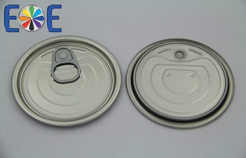 Malawi 214 Tinplate Tuna Fish Easy Open Can Lids Supplier