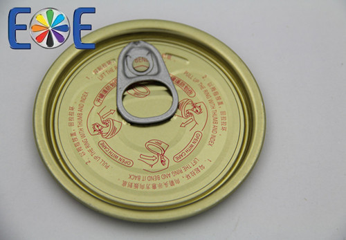 Malaysia 214 Tinplate Easy Open End Direct From Company