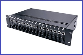 Managed Chassis Media Converter