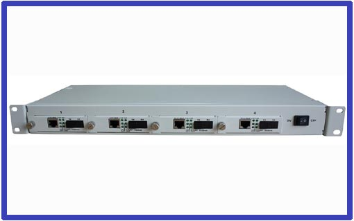 Managed Four Slots Chassis Media Converter