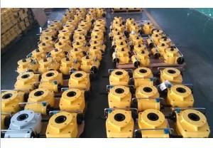 Manual Actuator Declutchable Override Gear Operator