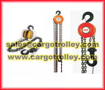 Manual Chain Blocks Features And Pictures