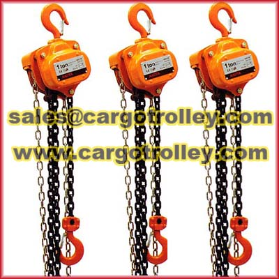 Manual Chain Hoist Pictures