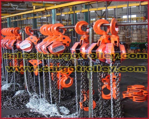 Manual Chain Hoists Pictures And Price