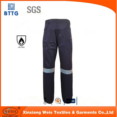 Manufacture Cotton Bib Overalls Buckle Cargo Pants Industrial Safety Workwear