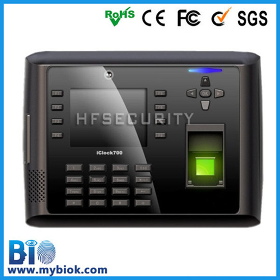 Manufacturer Fingerprint Terminal Time Attendant Machine Hf Iclock700