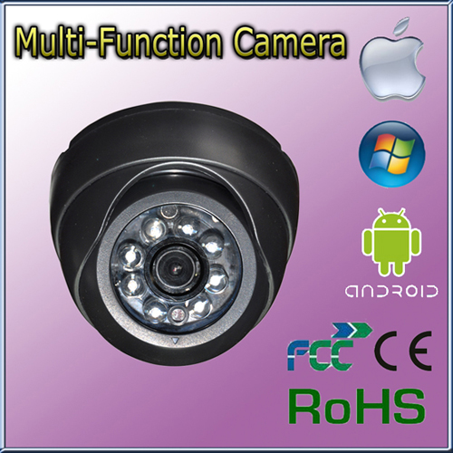 Manufacturer Mini Dome Cmos Ir Network Ip Camera