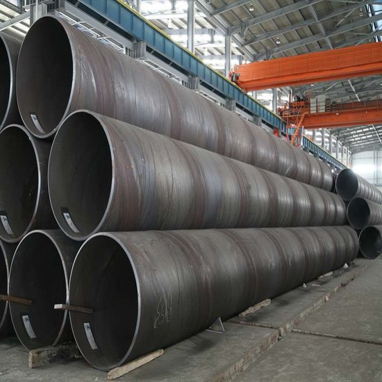 Manufacturing Ssaw Spirally Submerged Arc Welding Steel Pipes