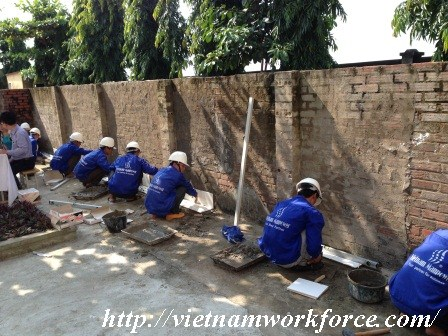 Many High Qualified Skilled Masons Are Only In Vietnam Workforce Recruitment Agency