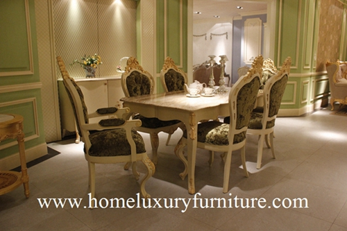 Marble Dining Table New Antique And Modern Room Furniture Sets Europ Style Ft 168