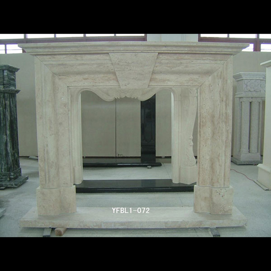 Marble Fireplace Elegant Hand Carving Whether Simple Style Or Luxury