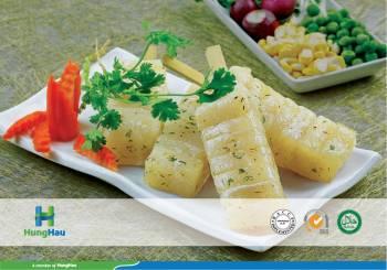 Marinated Pangasius Skewer Garlic And Herbs
