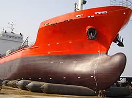 Marine Airbags For Ship Launching And Hauling Out