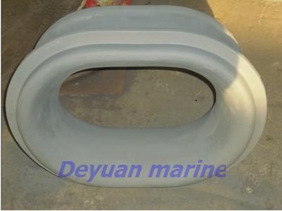 Marine Chock Bulwark And Deck Type