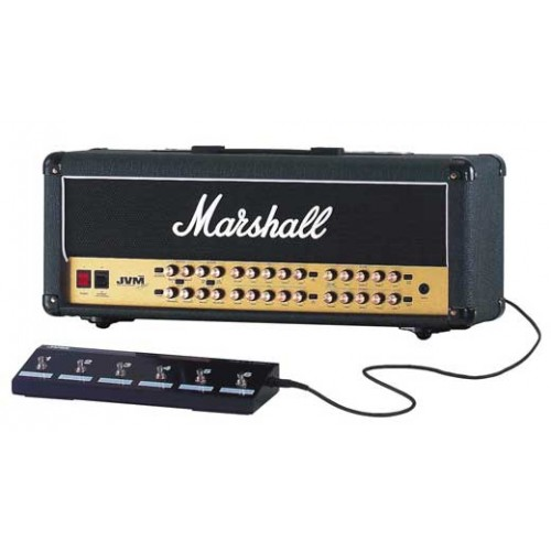 Marshall Jvm410h Guitar Amplifier Head With Footswitch