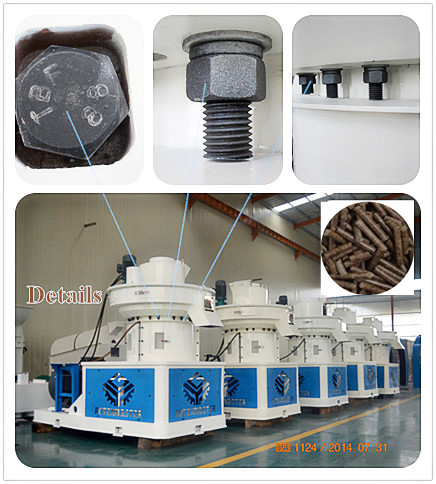 Materail Stainless Or Alloy Steel Wear Resistant Die Wood Pellet Machine Price