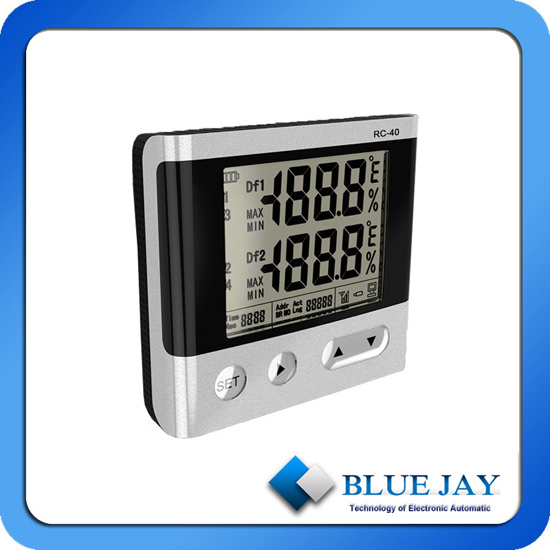 Max 4 Channel Various Types Of Sensors Optional Temperature Data Logger With Usb U Disk Interface Rs