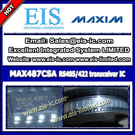 Max487csa Maxim Ic Rs 422 485 Interface Transceiver Soic 8