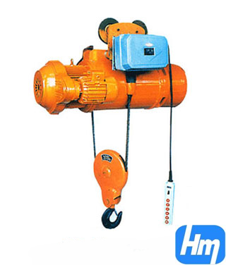 Md1 Model Electric Wire Rope Hoist