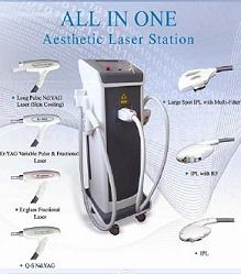 Medical Ce And Fda Approved Multifunctional Platform Ipl Rf Laser