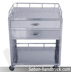 Medical Treatment Handcart Stainless Steel Rcs H0z36 Series