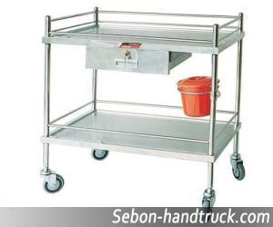 Medical Treatment Handcart Stainless Steel Rcs L0210 Series