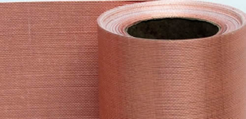 Medium Copper Mesh Vertically Functional And Decorative