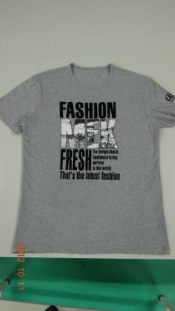 Men S 100 Cotton Cvc Printed T Shirt