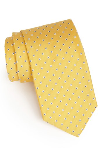Men Ties In Different Pattern Fabric