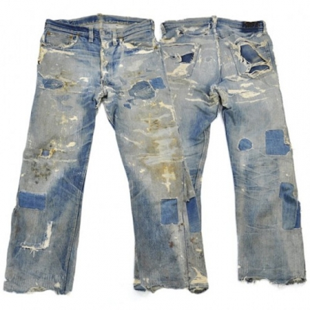 Men Vintage Jeans Available In Different Wash